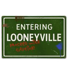 Looneyville-Caution