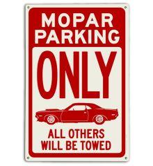 Mopar Parking (Red)