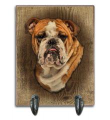 Bulldog Leash Holder
