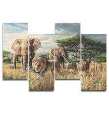 African Tempest Triptych