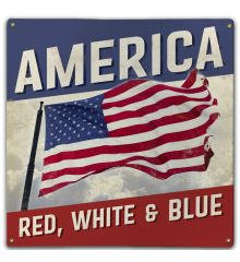 America Red, White & Blue