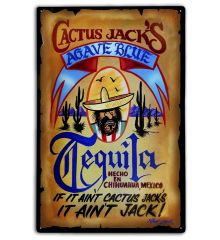 Cactus Jack's Tequila Wanted Poster