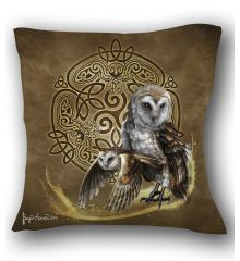 Celtic Owl Pillow