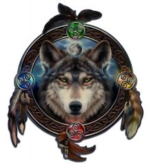 Celtic Wolf Guide 28x33