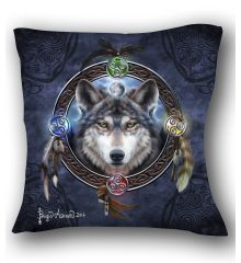 Celtic Wolf Guide Pillow