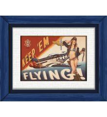 Keep Em Flying-P51 Mustang