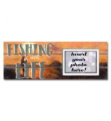 Fishing is My Life Sentimental Photo Frame