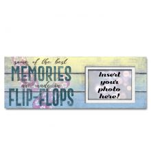 Flip Flops Sentimental Photo Frame