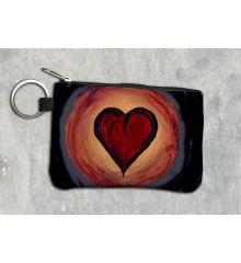 Heart Keychain Wallet