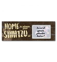 Home Is Where Your Shih Tzu Is Sentimental Photo Frame