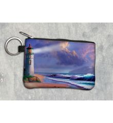 Lighthouse Dreaming Keychain Wallet