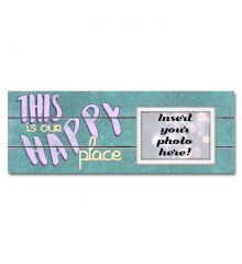 This Is Our Happy Place Sentimental Photo Frame