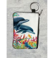 Sea of Color Vertical Keychain Wallet