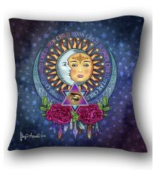Star Child Wild Child Pillow