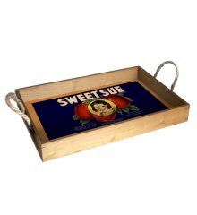 Sweet Sue 12X18 Wood Serving Tray