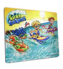 Surf Sharks Crew 130pc Puzzle Gift Set