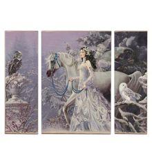 Winter Wings Triptych