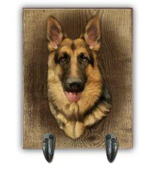 German Shepherd Leash Holder