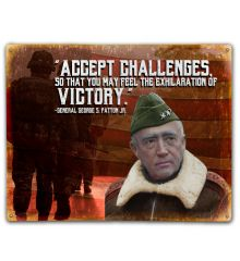 Patton: Accept Challenges