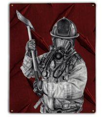 Red Fire Axe