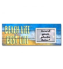 Beach Life is the Best Life Sentimental Photo Frame