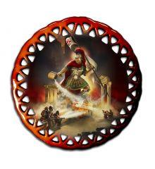 Captain St Florian Round Lace Ornament
