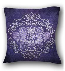 Celtic Unicorn Pillow