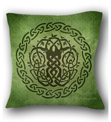 Celtic Tree II Pillow
