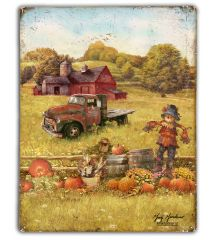 Fall Barns and Truck