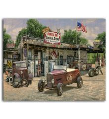 General Store 12x15 Planked Wood Sign