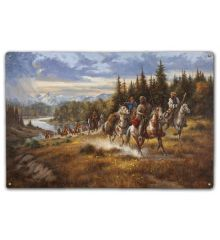 John Colter Trouble with the Blackfeet 1810