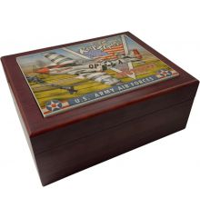 Keem Em Flying - P51 Mustangs for Victory Humidor