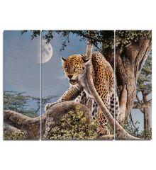 Leopard Triptych