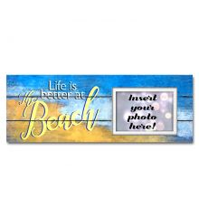 Life is Better at the Beach Sentimental Photo Frame
