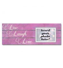 Live Laugh Love Sentimental Photo Frame