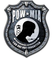 POW MIA Shield