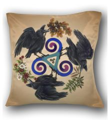 Raven Fey Pillow