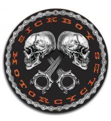 Piston Skulls Logo 14