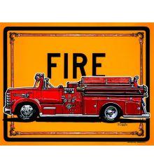 Sin Customs- 1958 Van Pelt Fire Truck 12x15