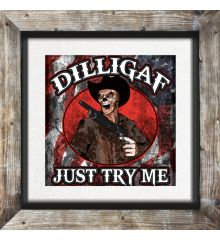 D.I.L.L.I.G.A.F. Skeleton Cowboy