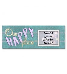 Our Happy Place Sentimental Photo Frame