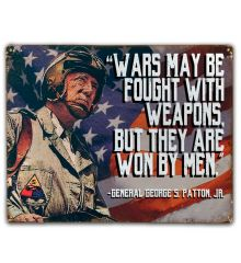 Patton: Wars are Won by Men